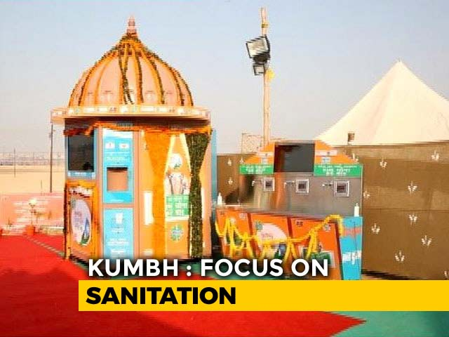 Video : Authorities Aim To Make This Years' Kumbh India's Cleanest Festival