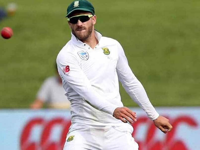 """South Africa Will Look To Keep Sri Lanka """"Under Pressure"""", Says Faf Du Plessis Ahead Of Test Series"""