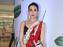 5 Gorgeous Cocktail <i>Sarees</i> To Glam Up In Like Karisma Kapoor