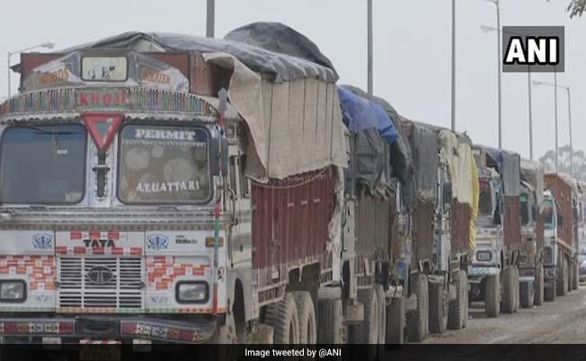 Over 200 Trucks Parked At Attari Border As Trade Stops Between India-Pakistan