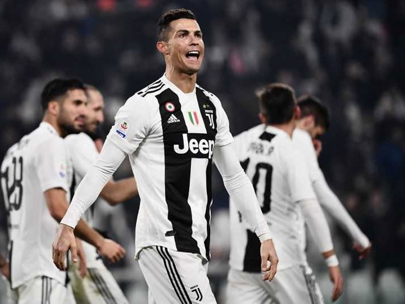 Cristiano Ronaldo On Target As Juventus Cruise Before Atletico Madrid Showdown