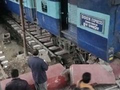 Doon Express Rams Into Platform, Woman Injured, Coaches Derailed