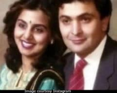 Neetu And Rishi Kapoor In A Throwback Pic. Can You Guess Who Found This?