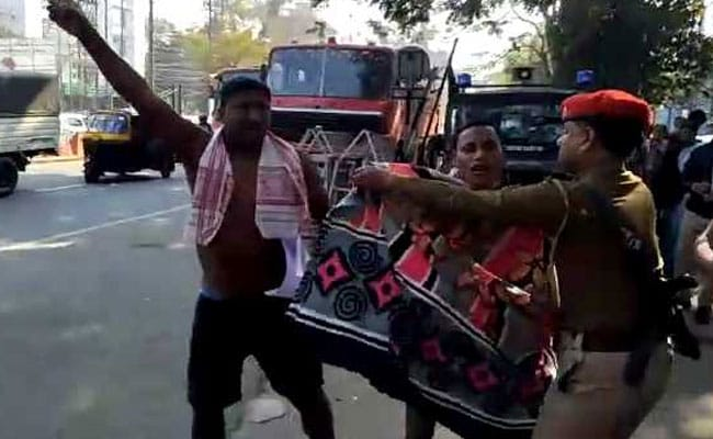 3 Arrested For Nude Protest Outside Assam Secretariat Over Citizenship Bill