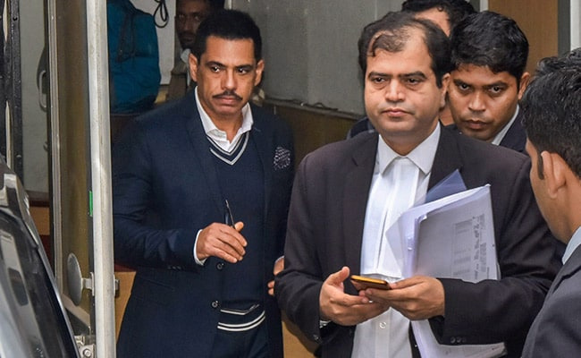 Interim Protection From Arrest To Robert Vadra Extended Till March 2
