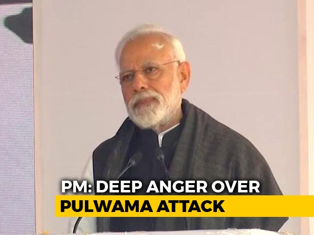 "Video : PM Modi Says Those Behind Pulwama Attack ""Have Made A Huge Mistake"""