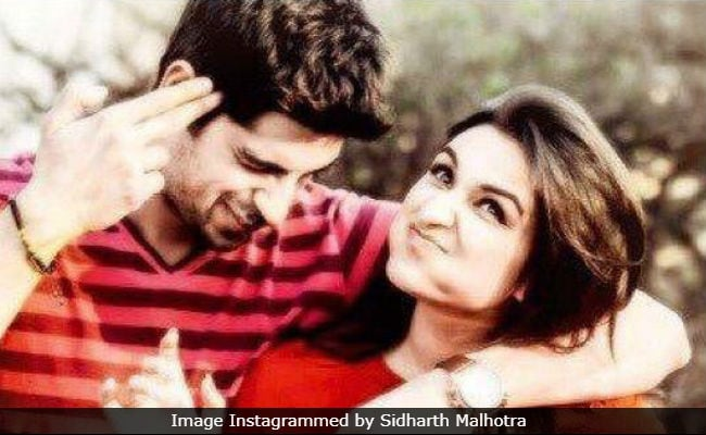 Sidharth Malhotra's 'Then And Now' Post Featuring Parineeti Chopra Is Simply Adorable