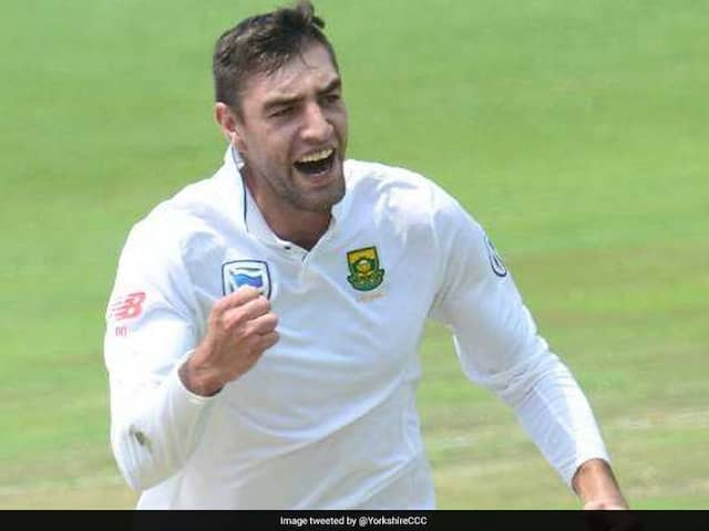 Cricket South Africa Disappointed As Duanne Olivier Signs Yorkshire Contract
