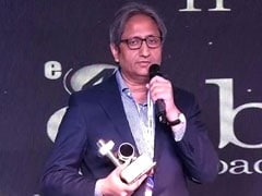 NDTV इंडिया बना बेस्ट न्यूज चैनल ऑफ द ईयर, रवीश ने कहा- हम न भीड़ बनते हैं और न भीड़ बनाते हैं