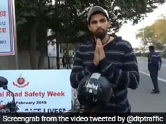 Cricketer Ishant Sharma Urges Delhi Residents To Follow Traffic Rules