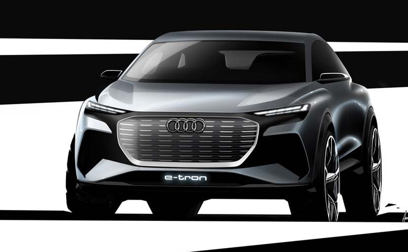 The Audi Q4 e-Tron will be launched late in 2020 in European markets