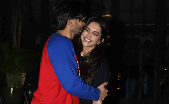 Ranveer, Deepika spends Valentine's day with her family