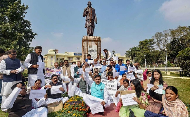 Lawmakers Demand Nitish Kumar's Resignation Over Bihar Shelter Home Case