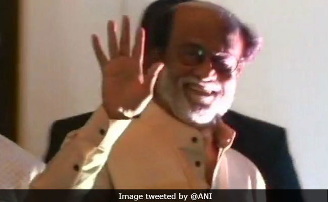 Rajinikanth Not To Contest Tamil Nadu Assembly Polls