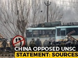 Video : UNSC Statement Condemning Pulwama Names Jaish, China Opposed It: Sources