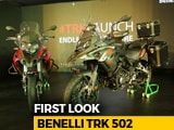 Video : Benelli TRK 502 First Look