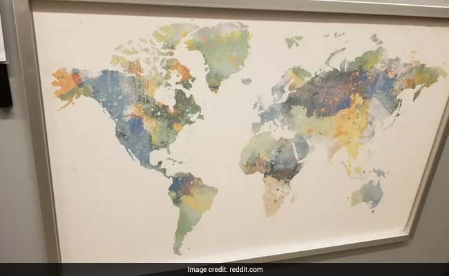 Can You Spot The Glaring Error In This World Map By Ikea?