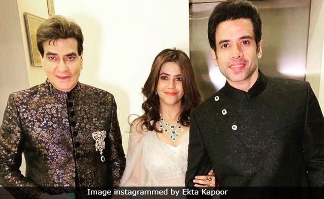 Living Ekta Kapoor And Tusshar's Childhood Through Grandsons: Jeetendra