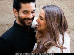 Neha Dhupia Made Husband Angad Bedi's Birthday Special With A Cute Wish