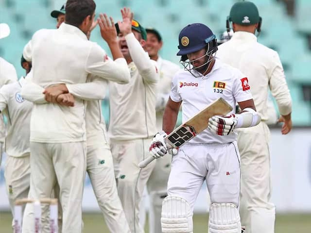 1st Test, Day 3: South Africa Ahead Against Sri Lanka After Burst Of Wickets