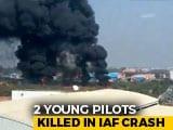 Video : 2 Air Force Pilots Killed During Take-Off At HAL Airport In Bengaluru