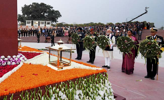 'People Can Forget Modi If They Want, But...': PM At War Memorial Launch