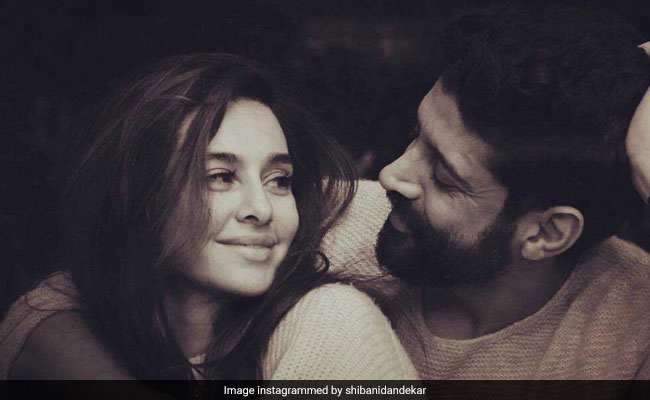 Farhan And Shibani 'Redefine Love' In This Pic, Says The Internet