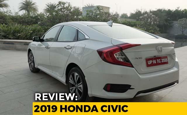 New Honda Suv >> 2019 Honda Civic Review