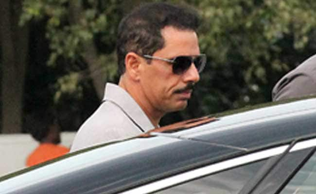 Probe Agency Attaches Assets Worth 4 Crore Of Firm Linked To Robert Vadra