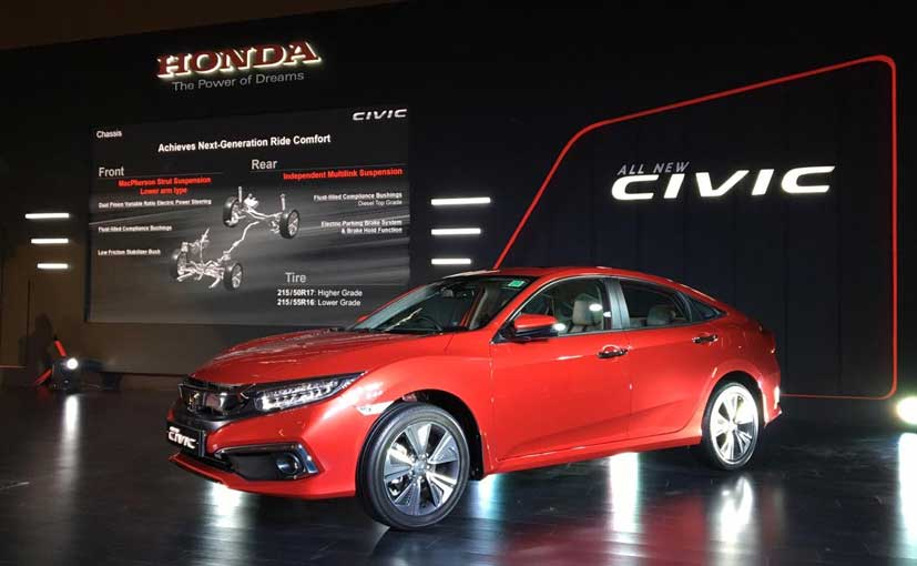 The Honda Civic with the petrol engine comes with a CVT