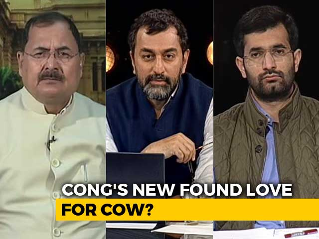 Video : Congress vs BJP: Competing Over Cow?