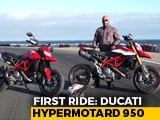 Video : 2019 Ducati Hypermotard 950/SP First Ride Review