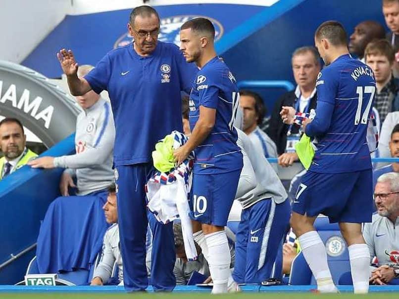 Eden Hazard At One With Maurizio Sarri Over Football Philosophy