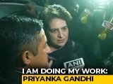 "Video : ""This Will Keep Going On"": Priyanka Gandhi Vadra On Husband's Questioning"