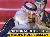 "Video : ""Would You Show Courage... ?"" Congress Taunts PM As Saudi Prince Visits"