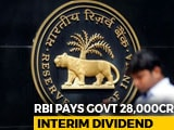 Video : RBI Gives Rs. 28,000 Crore Interim Dividend To Government Before Elections