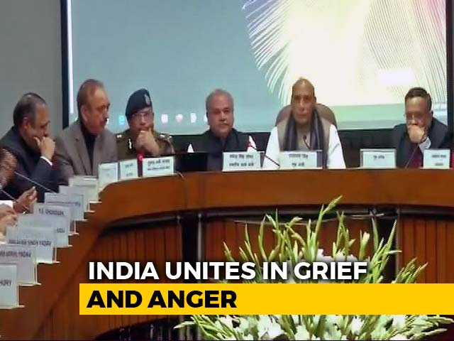 "Video : ""Entire Nation Speaks In One Voice"": All Party Resolution On Pulwama"