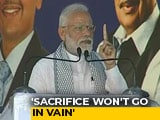 Video : Sacrifice Of Soldiers Killed In Pulwama Attack Won't Go In Vain: PM Modi