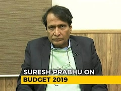 Video: Income Tax Burden On Middle Class To Reduce Significantly: Suresh Prabhu