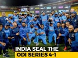 Video : India Crush New Zealand By 35 Runs In Wellington, Win ODI Series 4-1