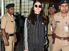 How To Wear Alia Bhatt's Black And White Stripes Look On A Budget