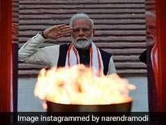 At National War Memorial Launch, PM Modi Raises Rafale, Attacks Gandhi Family