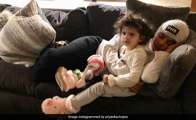 The Internet Hearts Priyanka Chopra's 'Super Cute' Pic With Niece