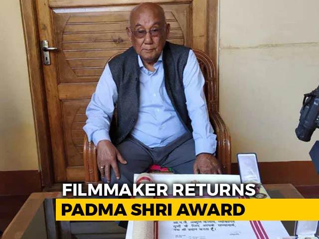 Video : Veteran Manipuri Filmmaker Returns Padma Shri To Protest Citizenship Bill