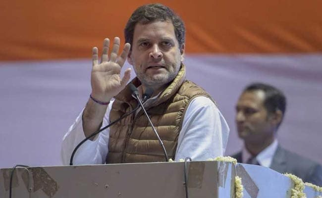 Tycoons Got Crores, Farmers Just Rs 17 A Day Under PM Modi: Rahul Gandhi