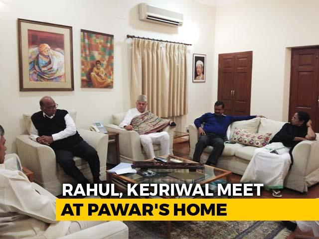 Video : Rahul Gandhi, Mamata Banerjee, Arvind Kejriwal Talk Pre-Poll Alliance