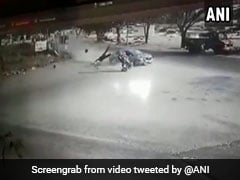 On Camera, Biker Hit By Car In Tamil Nadu, Flung 15 Feet Away