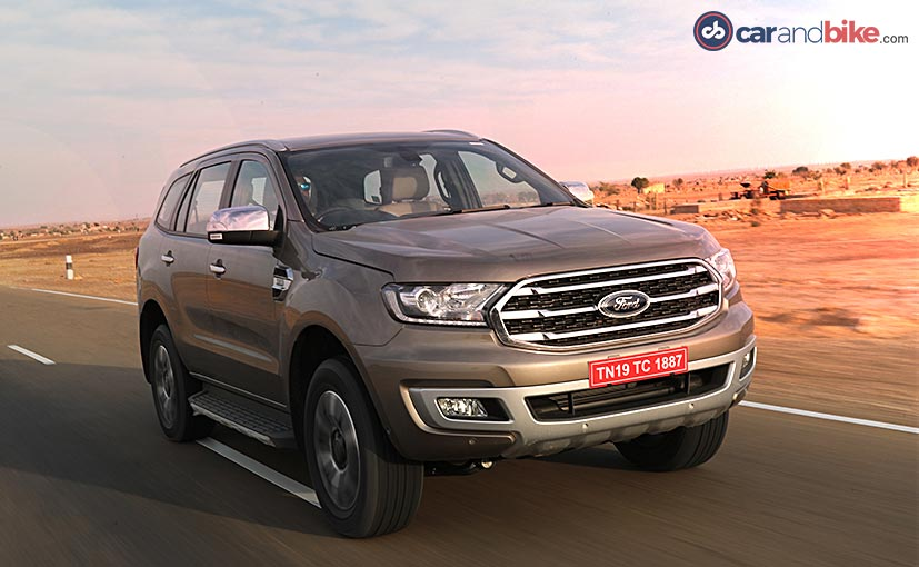 The 2019 Ford Endeavour facelift comes with some considerable exterior and interior updates