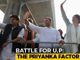 Video : Priyanka Gandhi Vadra Rolls Out 'Mission UP' With Mega Lucknow Roadshow