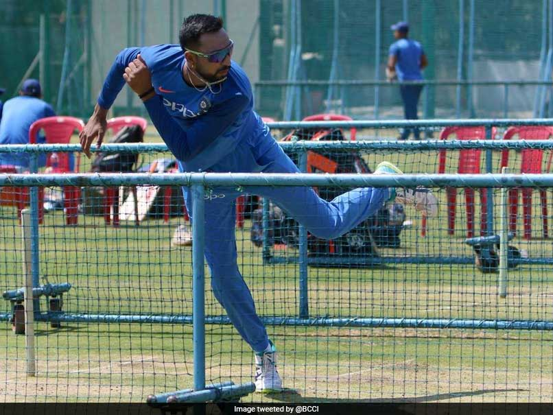 Krunal Pandya Says India Have Not Lost Momentum Despite 1st T20I Loss Against Australia
